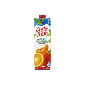 Creta Fresh Πορτοκάλι Μήλο Βερίκοκο